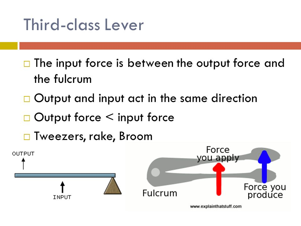 Lever Input And Output Force : Chapter three work and simple machines ppt video