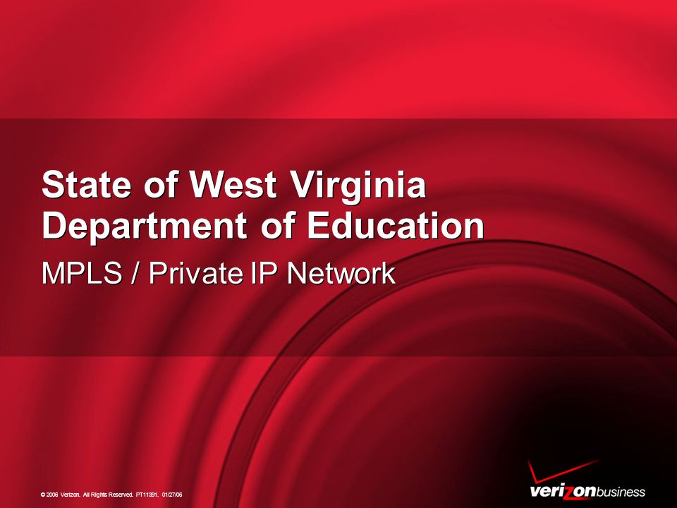 State of West Virginia Department of Education