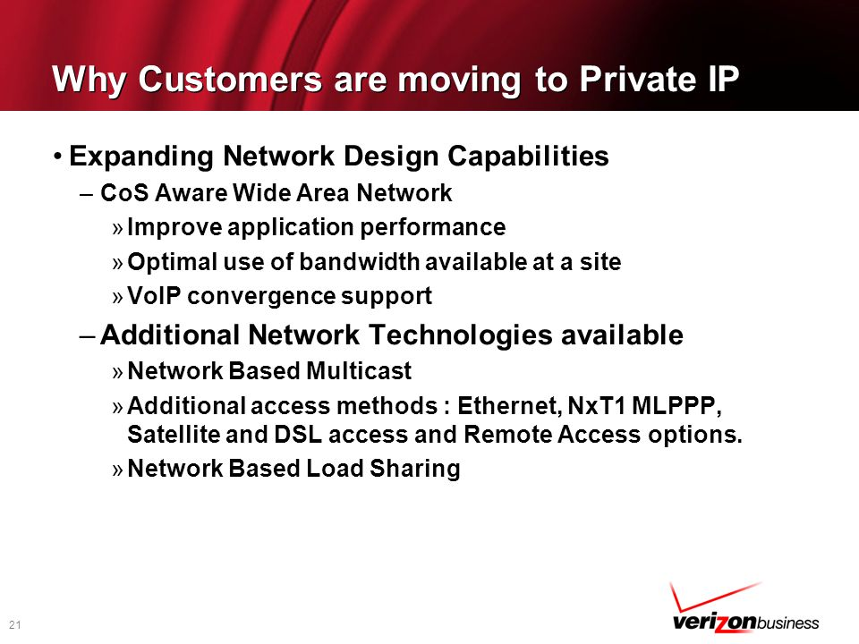 Why Customers are moving to Private IP