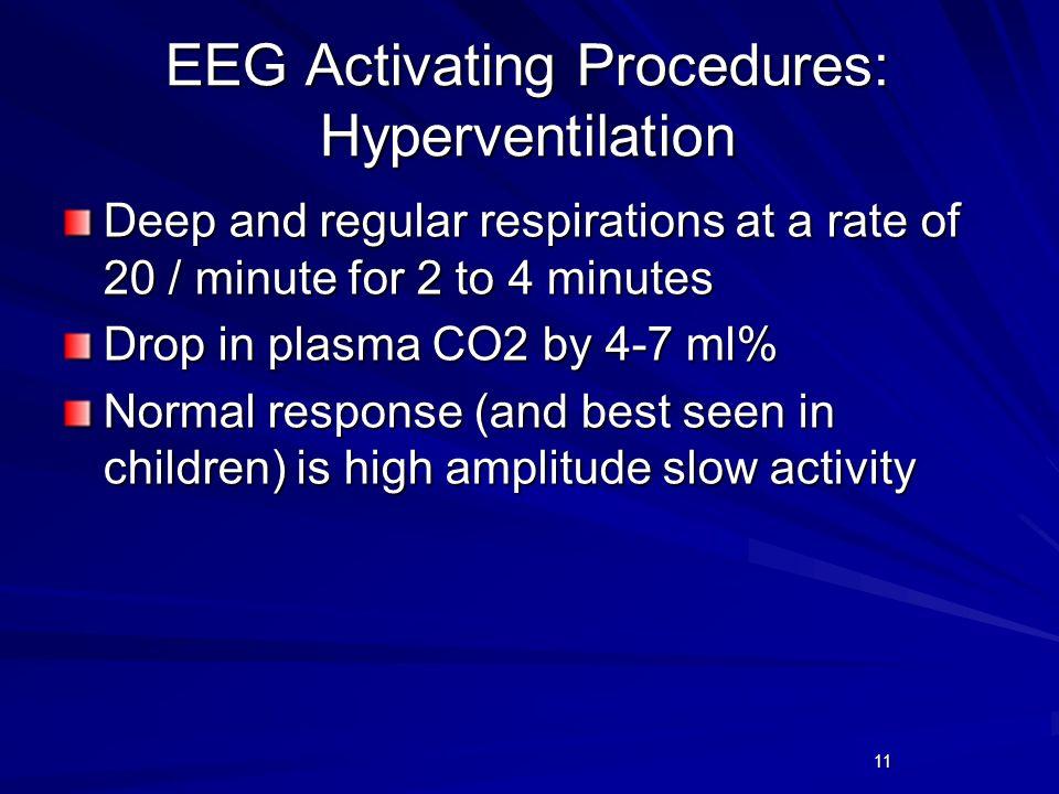 EEG Activating Procedures: Hyperventilation