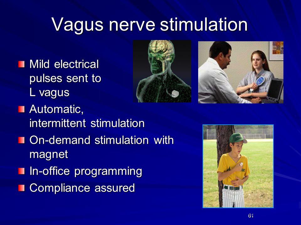 Vagus nerve stimulation