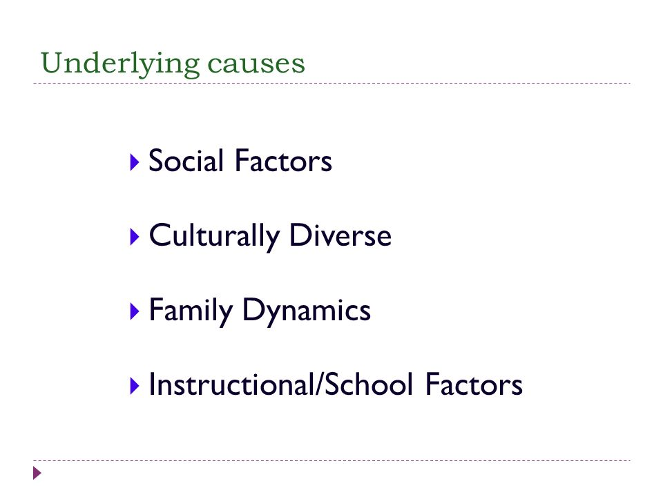 Instructional/School Factors