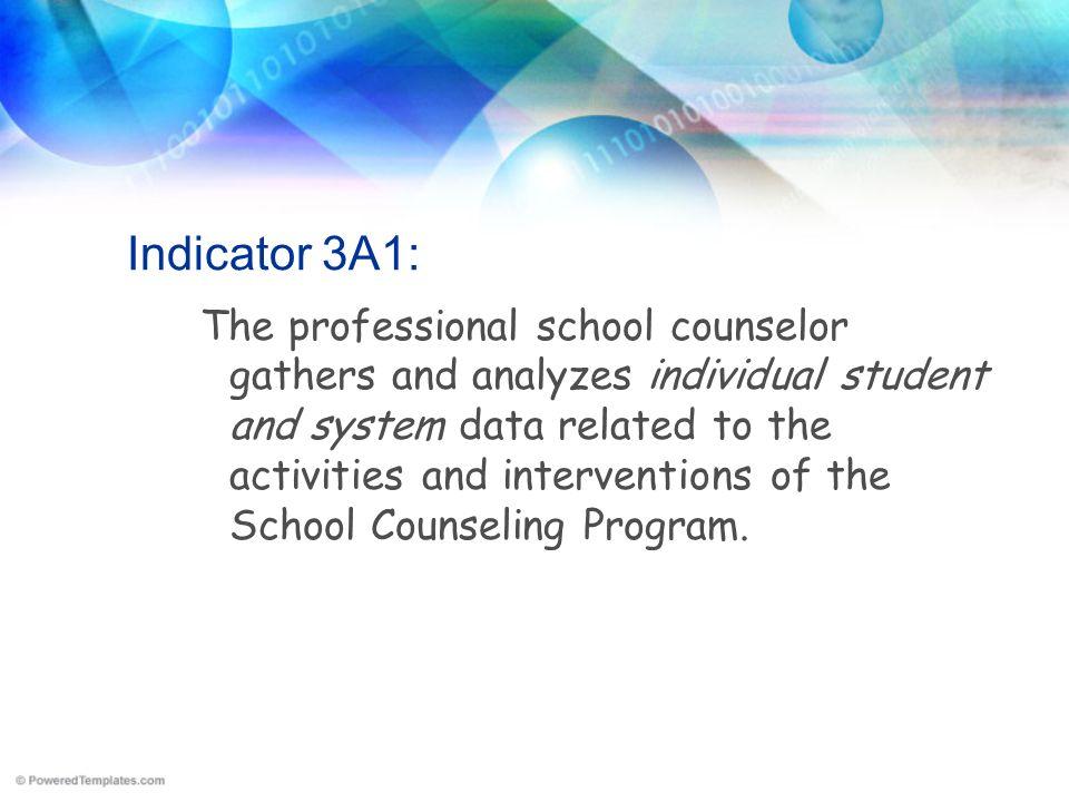 Indicator 3A1: