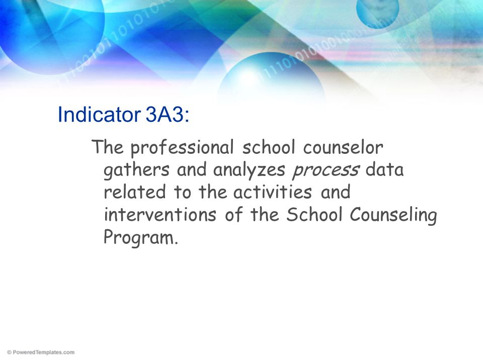 Indicator 3A3: