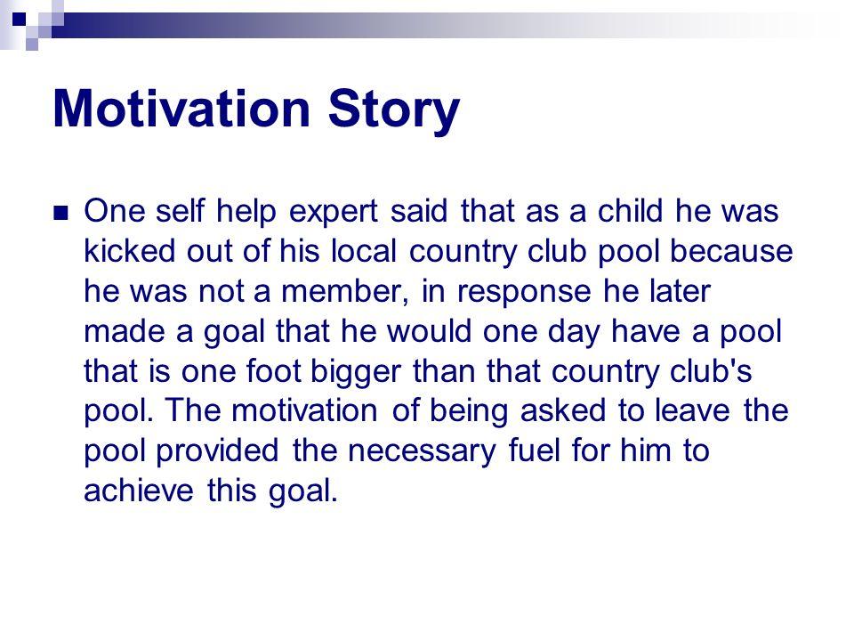 Motivation Story