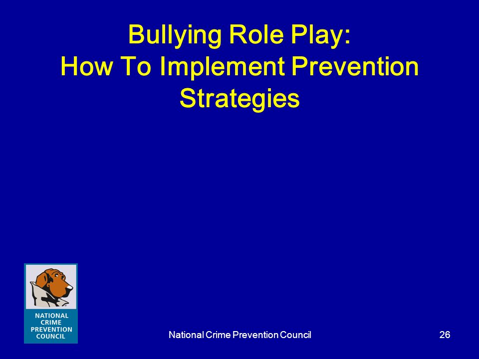 Bullying Role Play: How To Implement Prevention Strategies