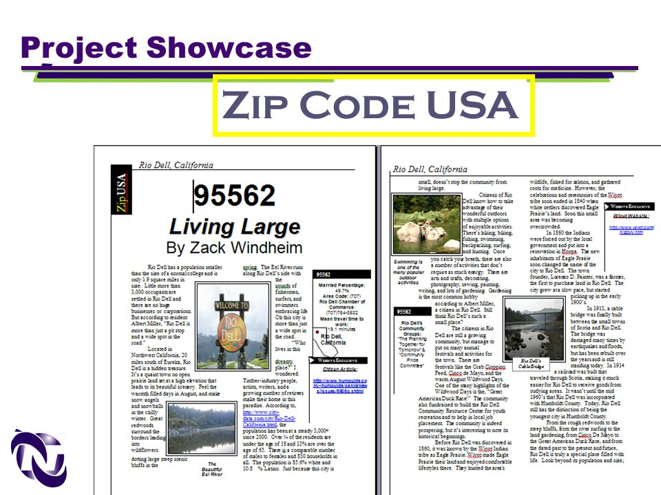Zip Code USA Project Showcase