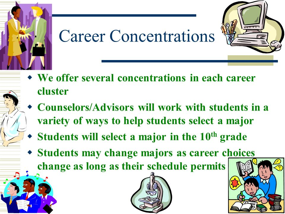 Career Concentrations