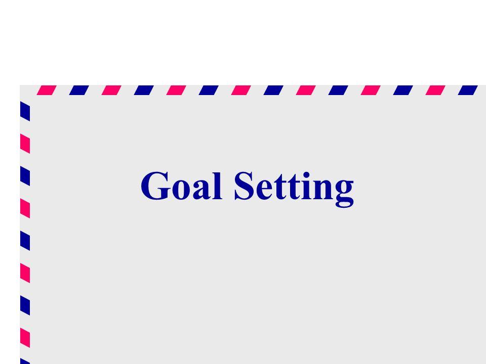 Goal Setting Lew,