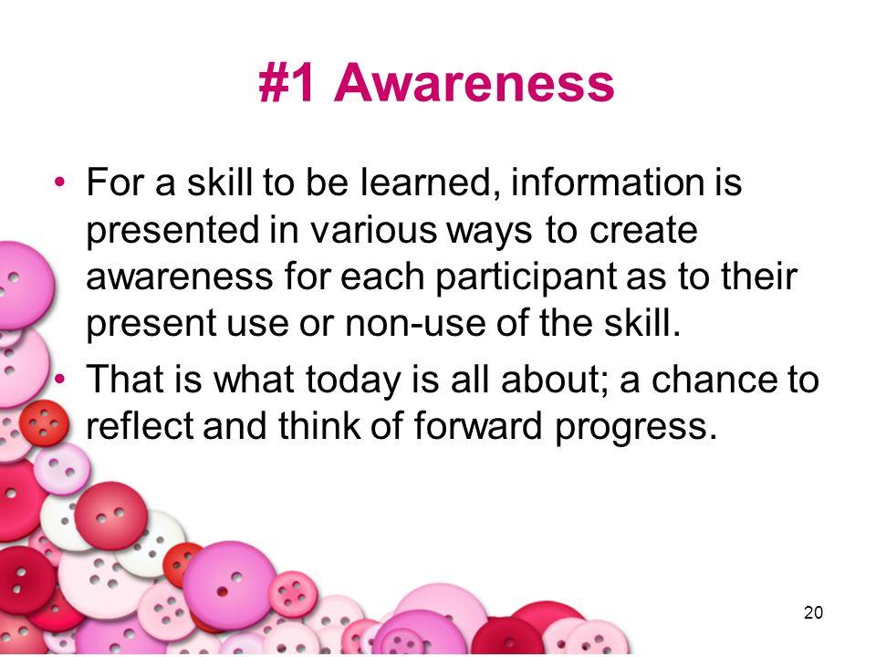 #1 Awareness