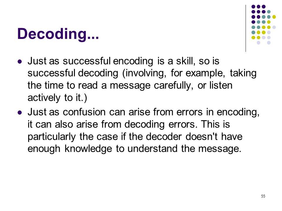 Decoding...