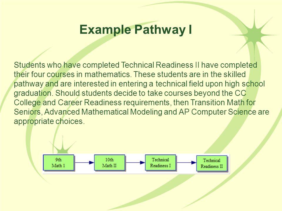 Example Pathway I