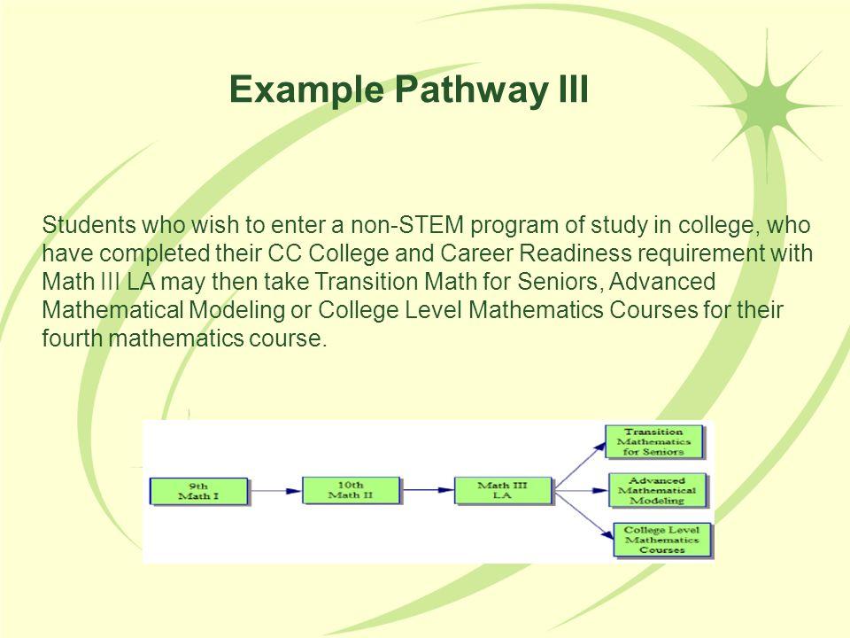 Example Pathway III