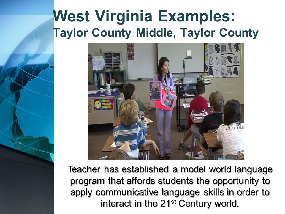 West Virginia Examples: Taylor County Middle, Taylor County