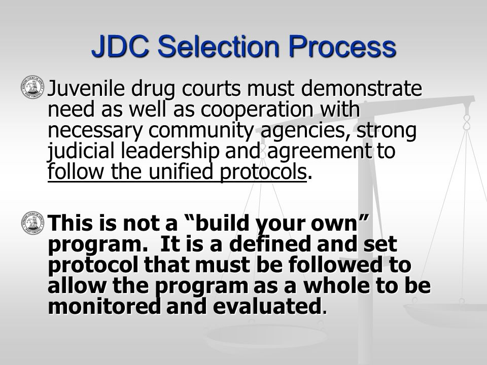 JDC Selection Process