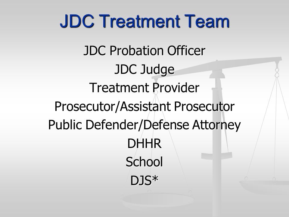 JDC Treatment Team