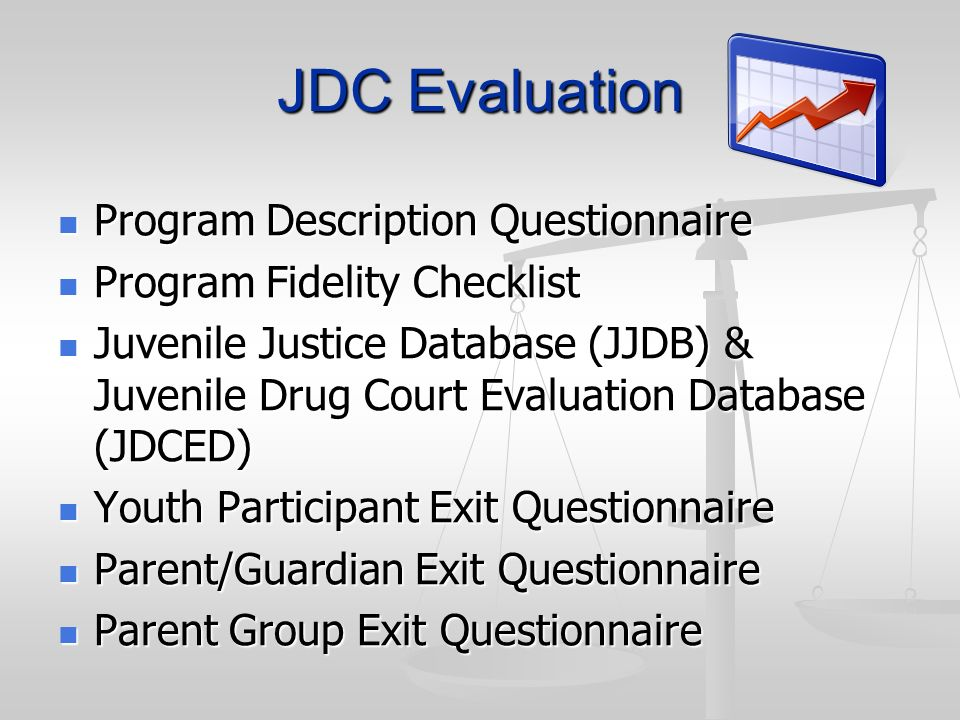 JDC Evaluation Program Description Questionnaire