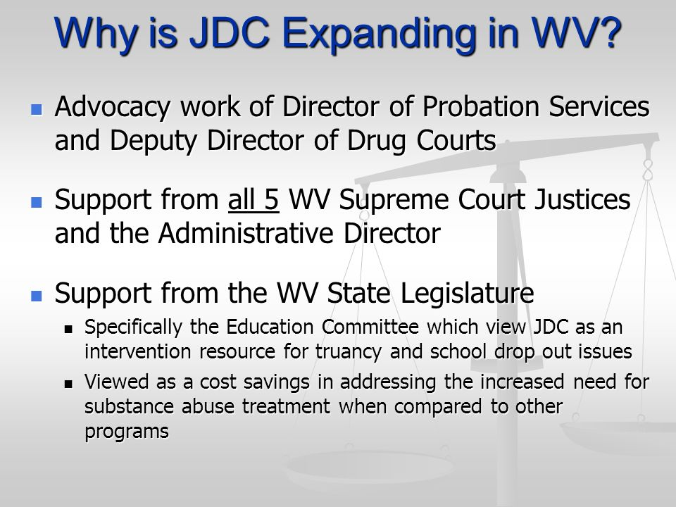 Why is JDC Expanding in WV