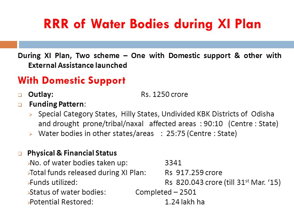 water schemes in odisha pdf