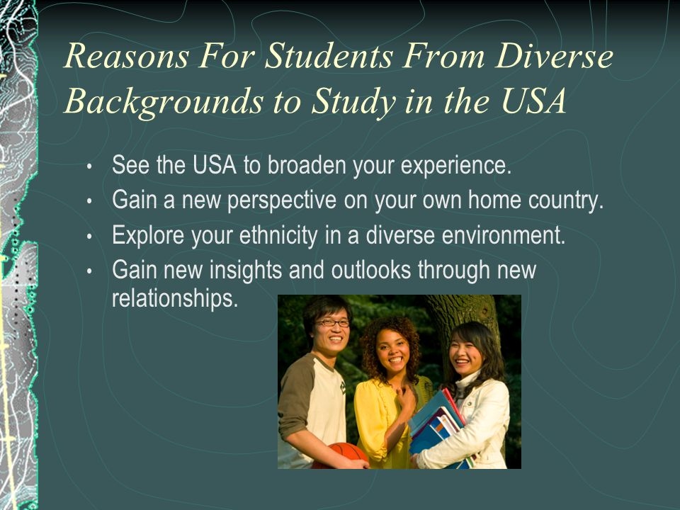 Reasons For Students From Diverse Backgrounds to Study in the USA