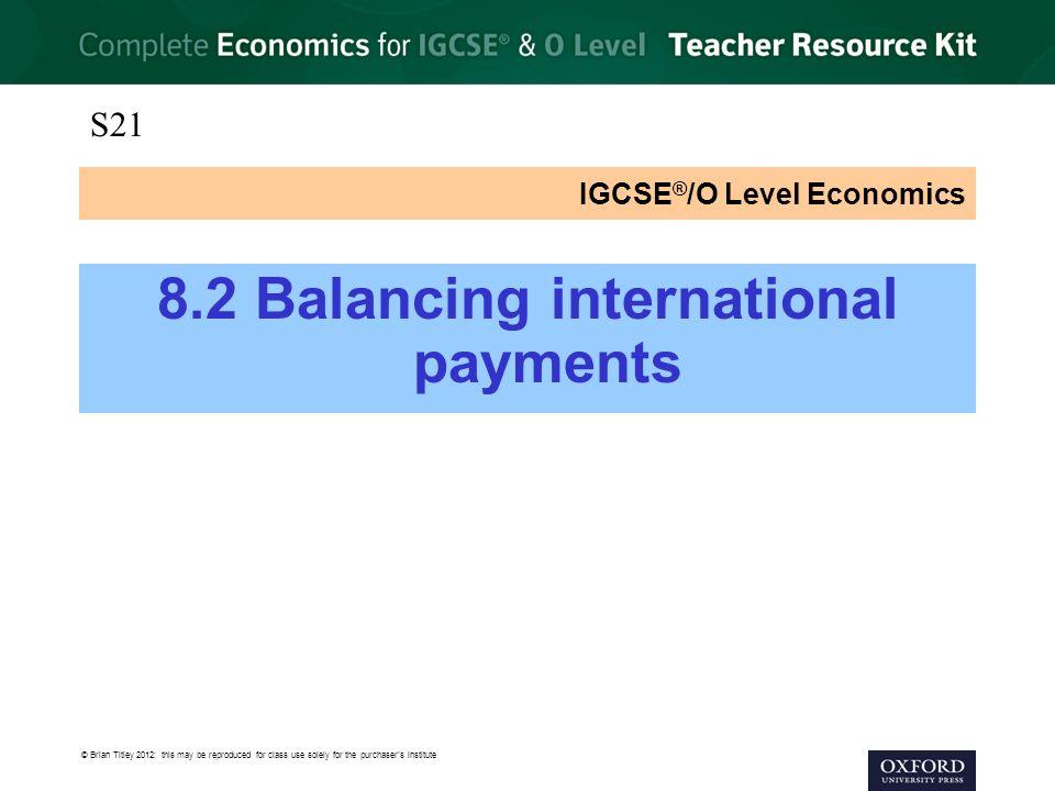 IGCSE®/O Level Economics