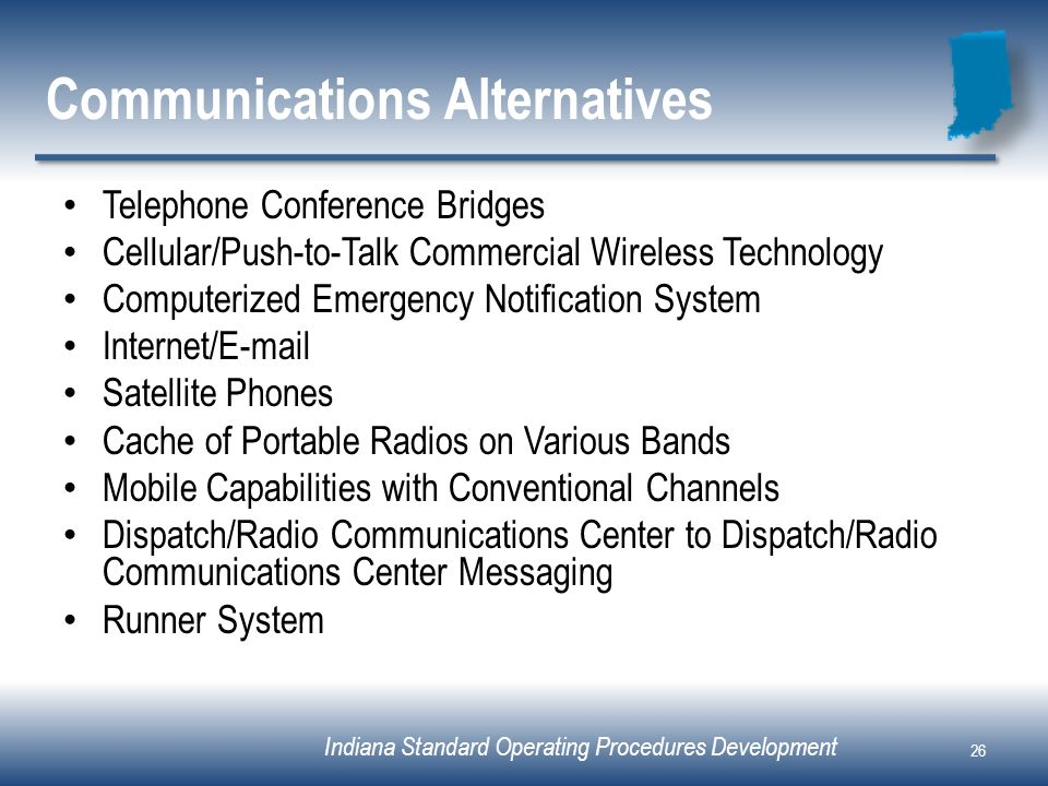 Communications Alternatives