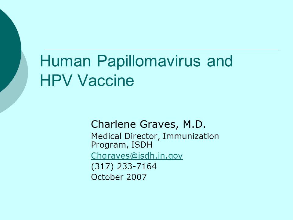 Human Papillomavirus and HPV Vaccine