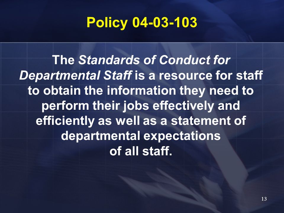 Policy 04-03-103