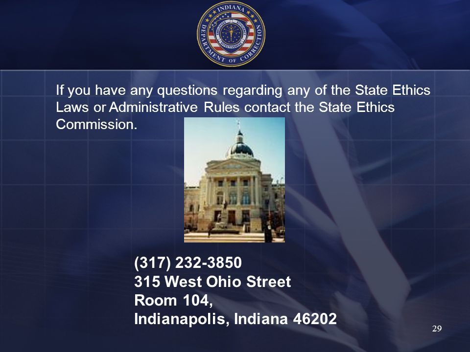 (317) 232-3850 315 West Ohio Street Room 104,