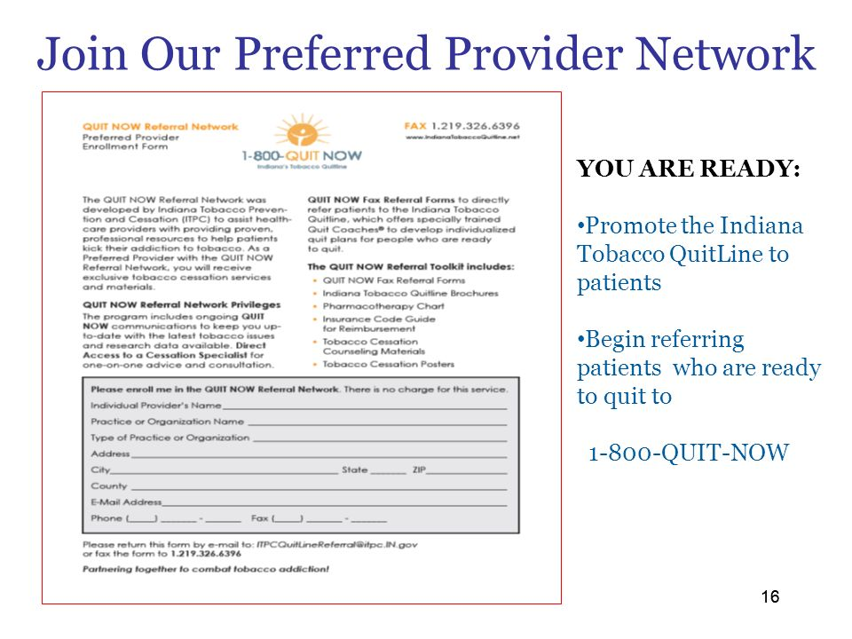 Join Our Preferred Provider Network