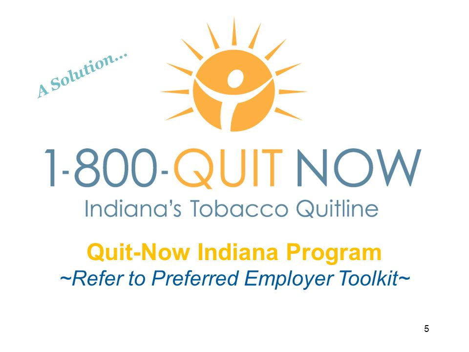 Quit-Now Indiana Program