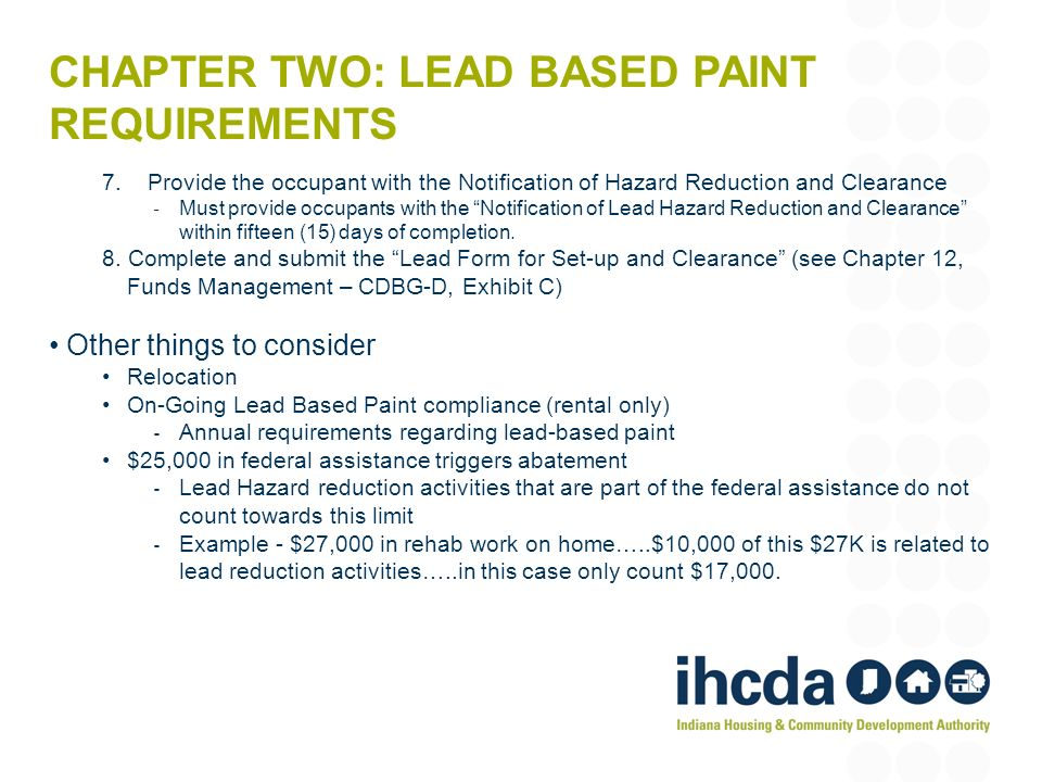 Ihcda Cdbg Compliance Training  Ppt Download