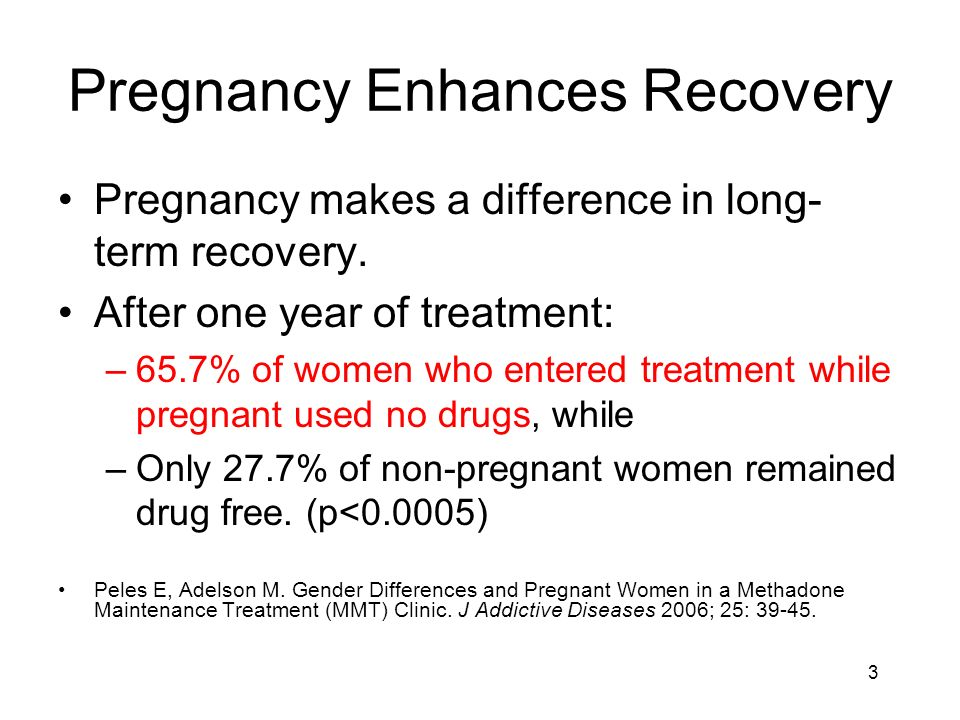 Pregnancy Enhances Recovery