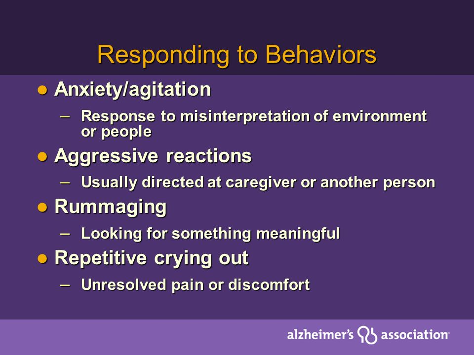 Responding to Behaviors