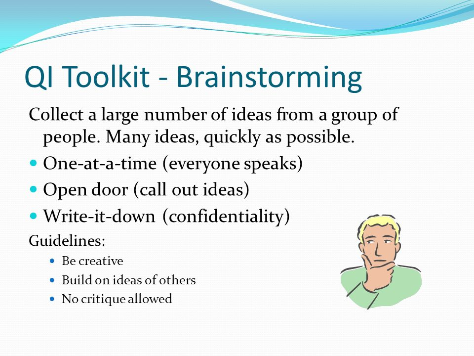 QI Toolkit - Brainstorming