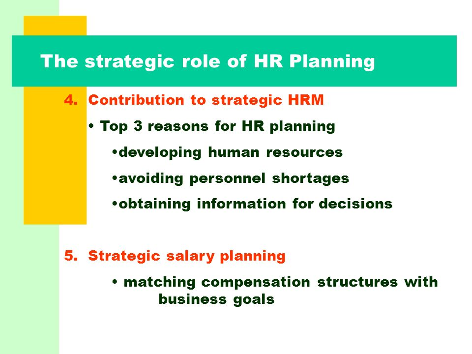 The Role of Strategic Planning in Performance Management, Part 1