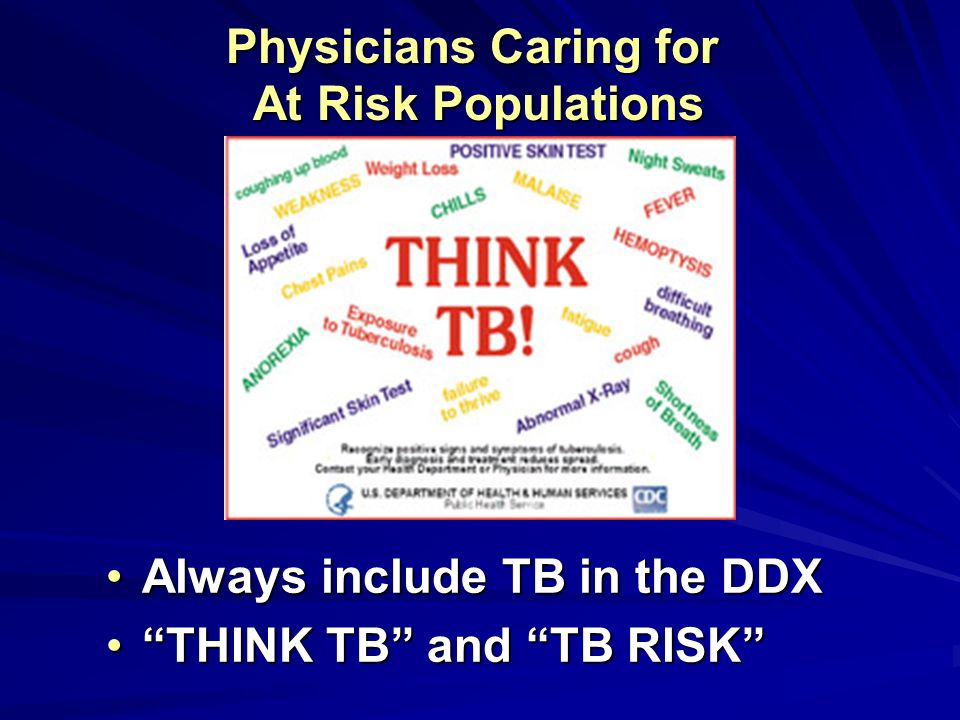 Physicians Caring for At Risk Populations