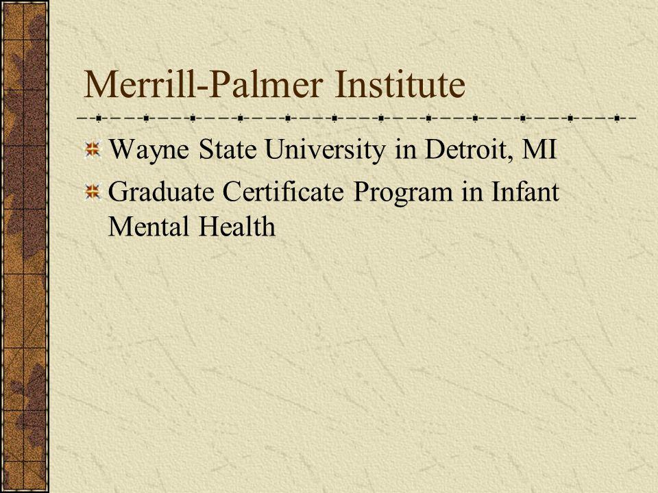 Merrill-Palmer Institute