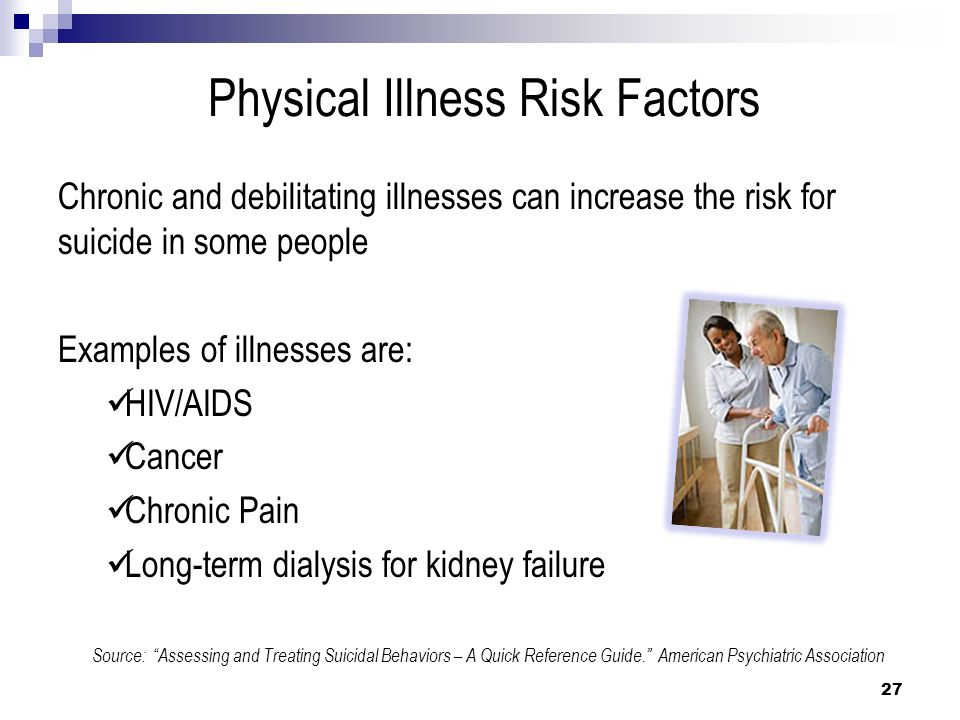 Physical Illness Risk Factors