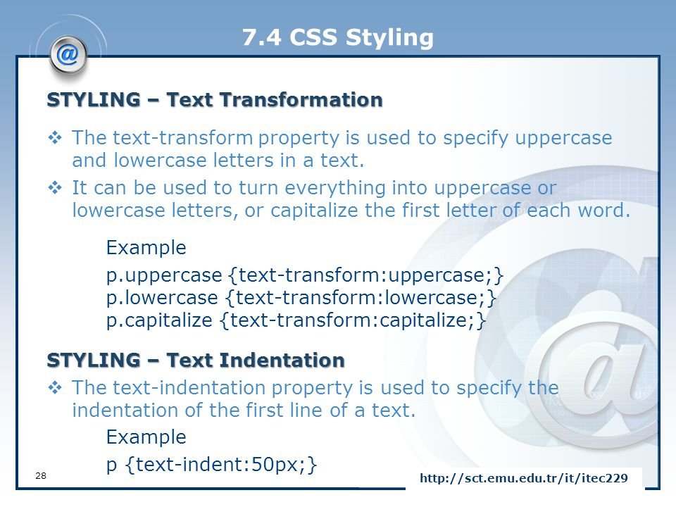 Capitalize First Letter Of Word Css