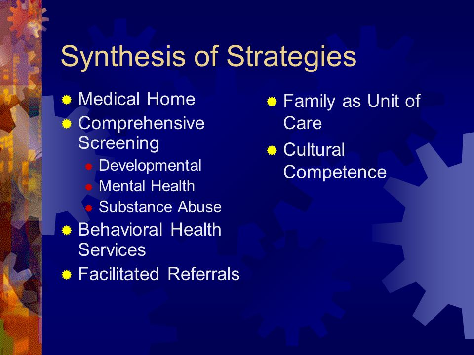 Synthesis of Strategies