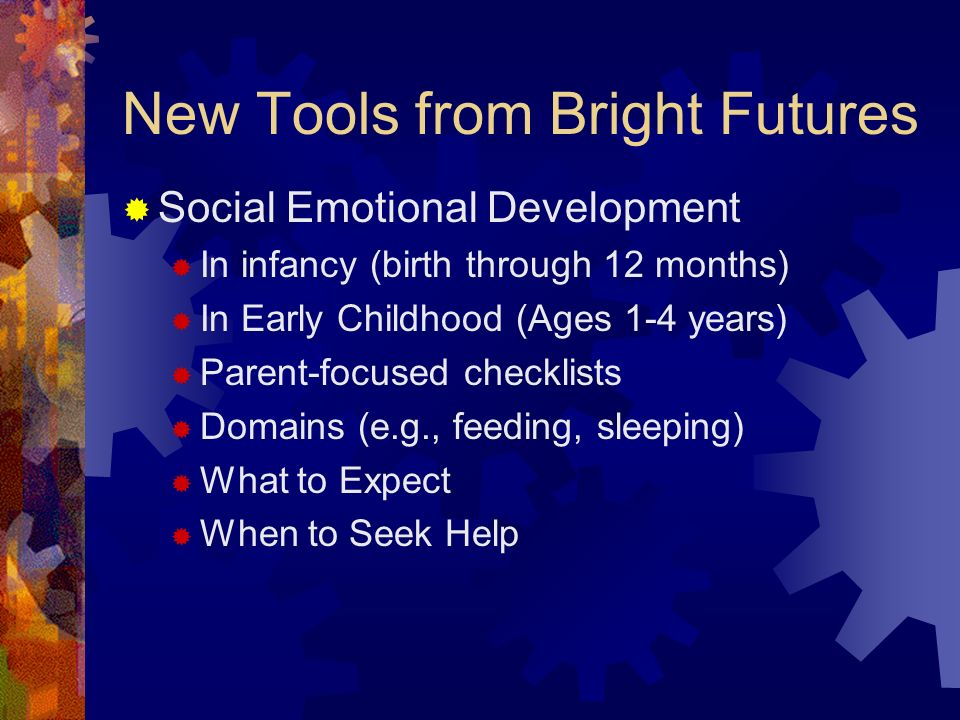 New Tools from Bright Futures