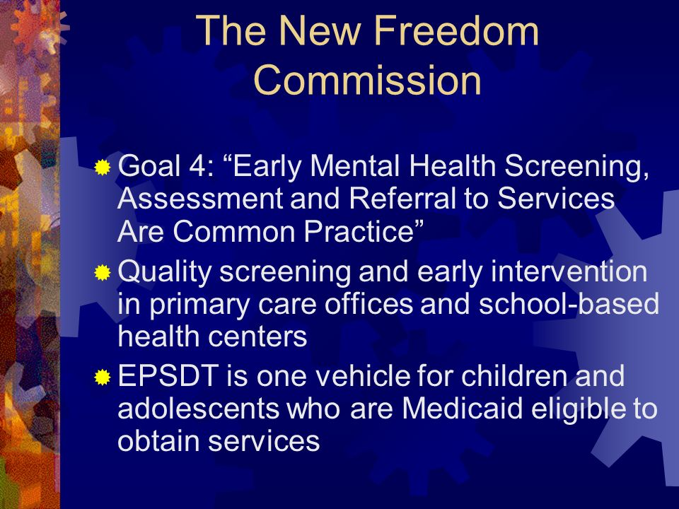The New Freedom Commission