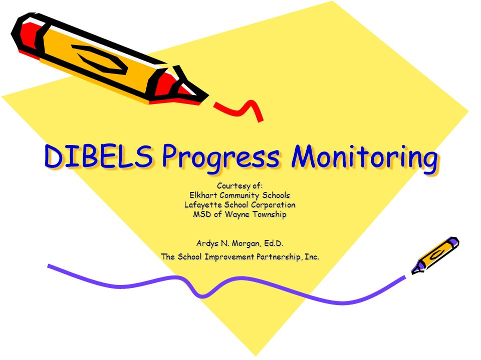 DIBELS Progress Monitoring