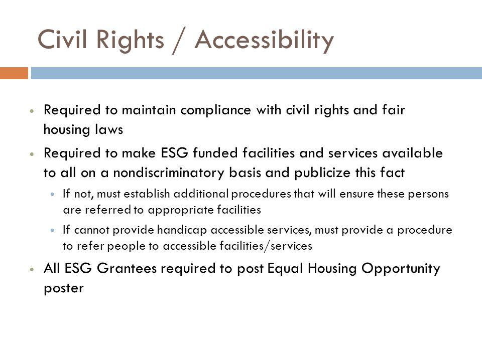 Civil Rights / Accessibility