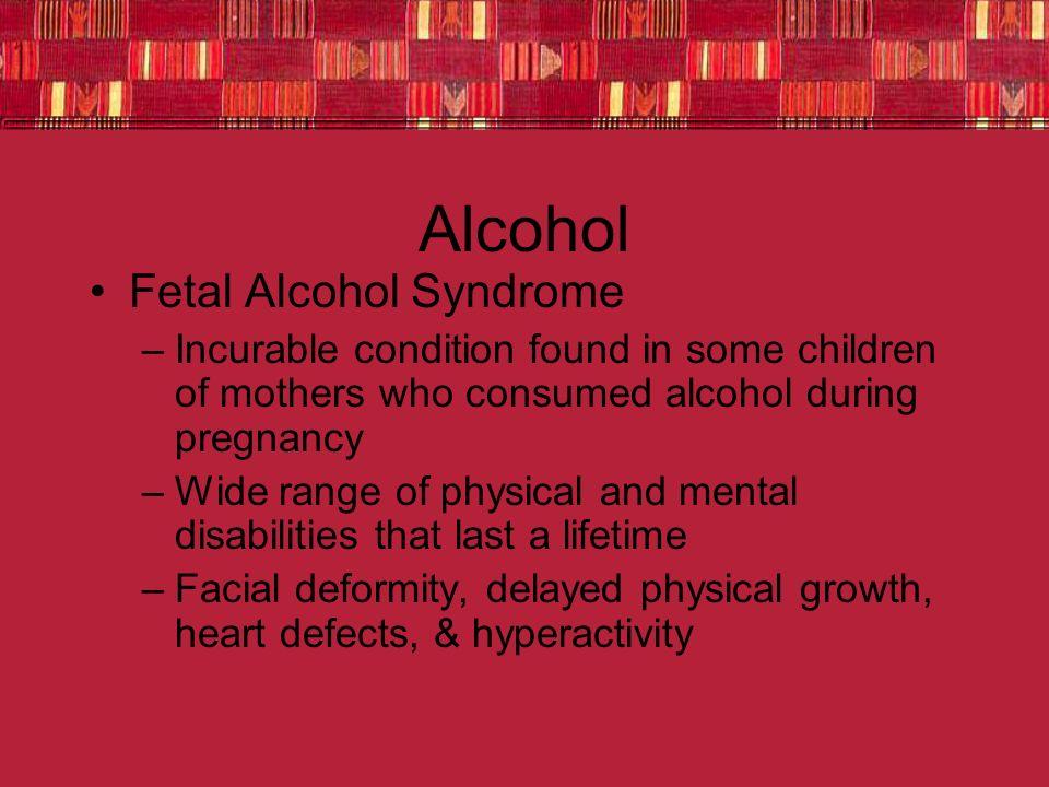 Alcohol Fetal Alcohol Syndrome