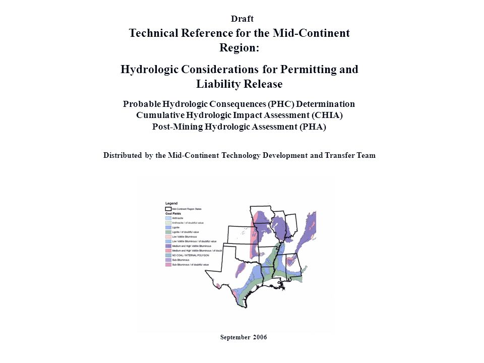 Technical Reference for the Mid-Continent Region: