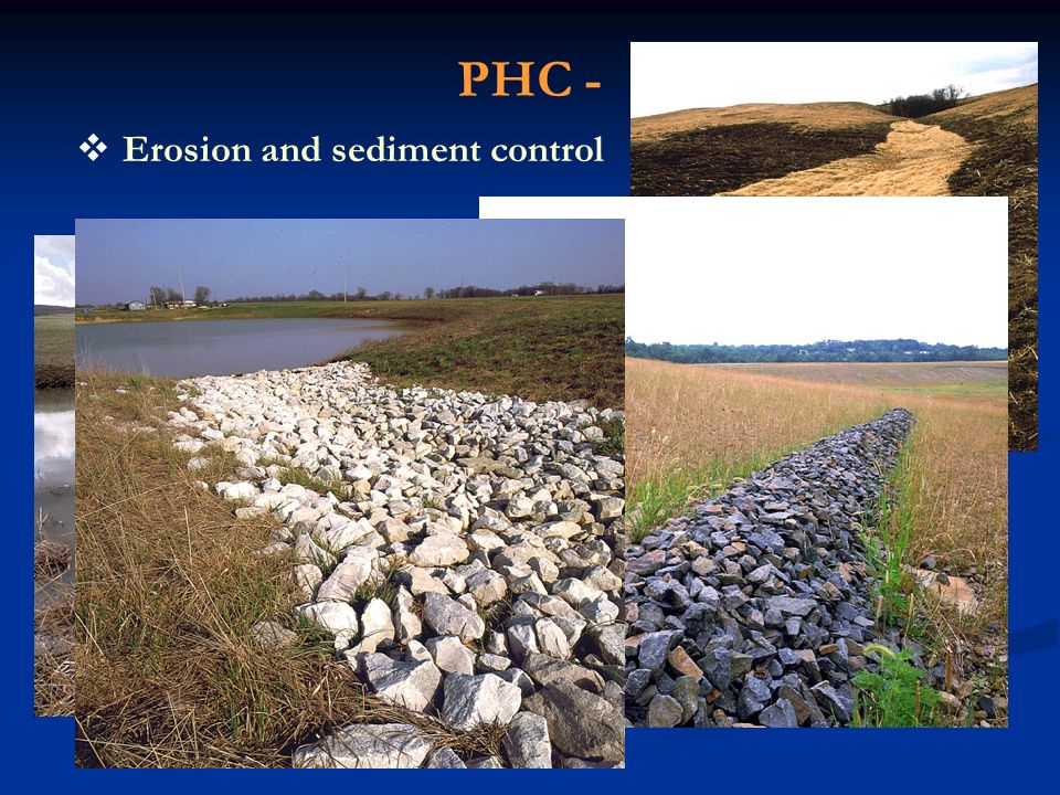 PHC - Erosion and sediment control