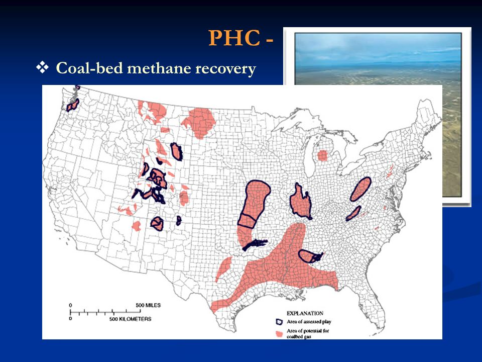 PHC - Coal-bed methane recovery