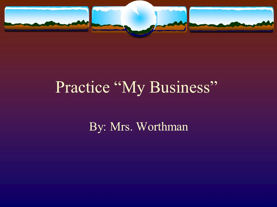 Practice My Business